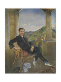 Count Zouboff Giclee Print by Annie Louisa Swynnerton