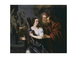 Susanna and the Elders Giclee Print by Sir Peter Lely
