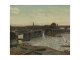 Old Battersea Bridge Giclee Print by Walter Greaves