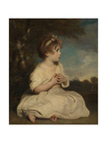 The Age of Innocence Giclee Print by Sir Joshua Reynolds