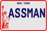 Assman Plate Plastskilt