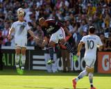 2014 MLS Cup Final: Dec 7, New England Revolution vs LA Galaxy - Andy Dorman, Robbie Keane Photo by Kirby Lee