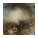 Shade and Darkness - the Evening of the Deluge Giclee Print by J. M. W. Turner