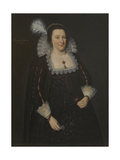 Portrait of Lady Margaret Livingstone, 2nd Countess of Wigtown Giclee Print by Adam de Colone