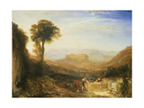 View of Orvieto, Painted in Rome Giclee Print by Joseph Mallord William Turner