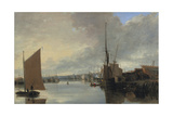 Yarmouth Harbour - Evening Giclee Print by John Crome