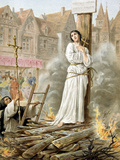 Joan of Arc (1412-1431) French Heroine of the Hundred Years' War Photographic Print