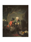 Tartar Robbers Dividing Spoil Giclee Print by Sir William Allan