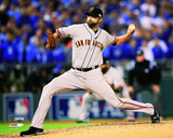 Jeremy Affeldt Game 7 of the 2014 World Series Action Photo