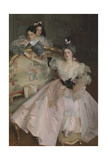 Mrs Carl Meyer and Her Children Giclee Print by John Singer Sargent