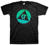 Com Truise - Badge (Black) T-Shirt