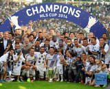 The Los Angeles Galaxy Celebrate Winning the 2014 MLS Cup Final Photo