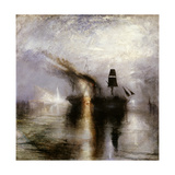Peace - Burial at Sea Giclee Print by J. M. W. Turner