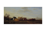 Dutch Landscape with Cattle Giclee Print by Sir Augustus Wall Callcott