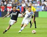 2014 MLS Cup Final: Dec 7, New England Revolution vs LA Galaxy - Marcelo Sarvas, Landon Donovan Photo by Gary A. Vasquez