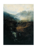 Morning Amongst the Coniston Fells, Cumberland Giclee Print by Joseph Mallord William Turner