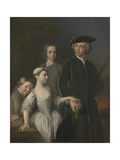 Thomas, 2nd Baron Mansel of Margam with His Blackwood Half-Brothers and Sister Giclee Print by Allan Ramsay