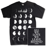 Converge - Moon Phase (Black) T-shirts