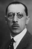 Igor Stravinsky Fotografisk tryk