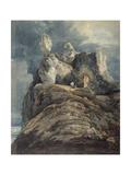 Bamburgh Castle, Northumberland Giclee Print by Thomas Girtin