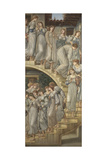 The Golden Stairs Giclee Print by Sir Edward Coley Burne-Jones