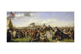 The Derby Day Giclee Print by Duncan Grant