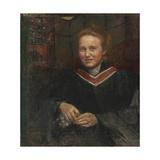 Dame Millicent Fawcett Giclee Print by Annie Louisa Swynnerton