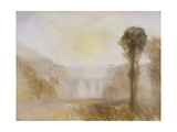 The Ponte Delle Torri, Spoleto Giclee Print by Joseph Mallord William Turner