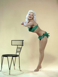 American Actress Jayne Mansfield (1933-1967) Born as Vera Jane Palmer, Here in, 1965 Print