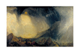 Snow Storm: Hannibal and His Army Crossing the Alps Giclee Print by Joseph Mallord William Turner