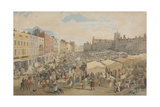 Norwich Market-Place Giclee Print by William Holman Hunt