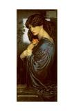 Proserpine Giclée-tryk af Dante Gabriel Rossetti