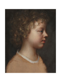 Sketch of the Artist's Son, Bartholomew Beale, in Profile Giclee Print by Mary Beale