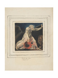 First Book of Urizen Pl. 21 Giclée-Druck von William Blake