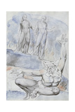 Illustrations to Dante's 'Divine Comedy', Plutus Giclee Print by William Blake
