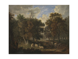 Wood Scene Giclee Print by Robert Ladbrooke