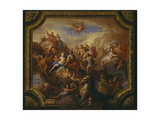 The Apotheosis of Romulus: Sketch for a Ceiling Decoration Giclee Print by Sir James Thornhill