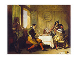 Scene from 'The Devil Upon Two Sticks' Giclee Print by Augustus Leopold Egg