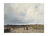 A Distant View of St-Omer Giclee Print by Richard Parkes Bonington