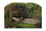 Ophelia Giclée-tryk af John Everett Millais