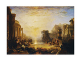 The Decline of the Carthaginian Empire... Stampa giclée di Joseph Mallord William Turner