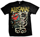 Alesana - Skeleton Heart T-shirts