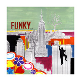 Funky Empire Giclee Print by Clara Summer