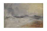 Waves Breaking Against the Wind Giclee Print by Joseph Mallord William Turner