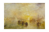 Going to the Ball (San Martino) Giclee Print by Joseph Mallord William Turner