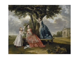 Three Daughters of John, 3rd Earl of Bute Giclee Print by William Etty