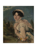 Miss Mary Arabella Jay Giclee Print by William Etty