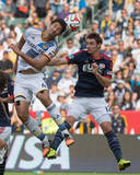 2014 MLS Cup Final: Dec 7, New England Revolution vs LA Galaxy - Andy Dorman, Omar Gonzalez Photo by Kyle Terada