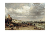 Chain Pier, Brighton Giclee Print by John Constable