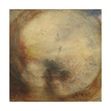 Light and Colour (Goethe's Theory), the Morning after the Deluge, Moses Writing the Book of Genesis Giclee Print by Joseph Mallord William Turner